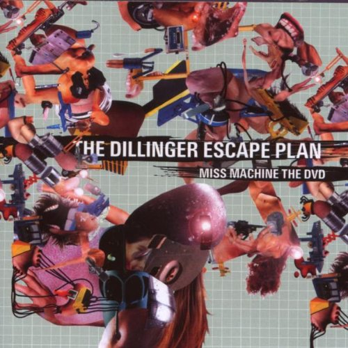 DVD : The Dillinger Escape Plan - Miss Machine: The Dvd (Jewel Case Packaging)