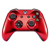 Xbox One Wireless Controller for Microsoft Xbox One - Custom Soft Touch Feel - Custom Xbox One Controller (Red Chrome) (Color: Red Chrome)