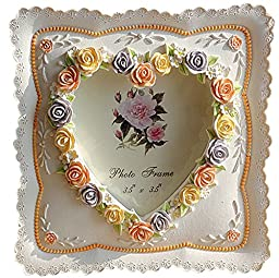 Giftgarden® Frames Vendor Colorful Rose Picture Frame for Best Friend Gifts