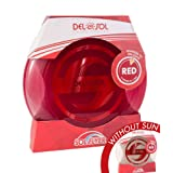 Del Sol Color Changing Frisbee - Changes Color in The Sun! (Clear to Red)