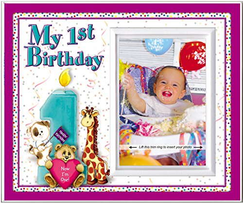 My First Birthday - Picture Frame Gift