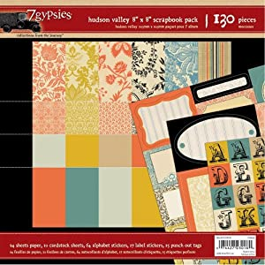 7gypsies 23018 Scrapbook Pack Hudson Valley 8x8