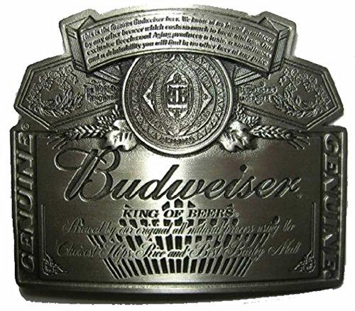 budweiser-silver-label-fibbia-per-cintura-espositore