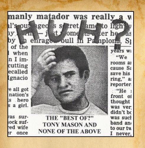 Original album cover of Huh? by Tony Mason