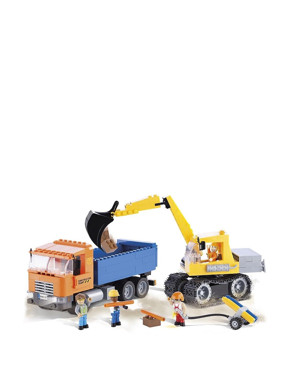 COBI 1667 – Bagger mit Kipper aus der Action Town Serie – 300 Bausteine bestellen