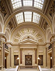 Beautiful Grand Hall of the Wisconsin Capitol, Madison - Quality Photographic Print by Carol M. Highsmith