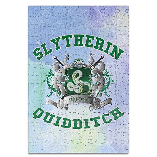 [KIDDOS Personalized Picture Print Harry Potter-Slytherin Quidditch 5 Jigsaw Puzzle Puzzle A4 - 120] (Persona 4 Dancing All Night Rise Costumes)