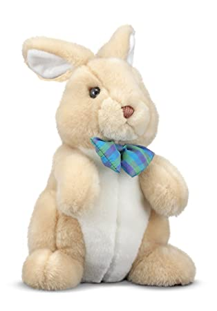 "Melissa & Doug Princess Soft Toys 12"" Plush Propper Bunny"