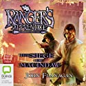The Siege of Macindaw: Ranger's Apprentice, Book 6 Audiobook by John Flanagan Narrated by William Zappa