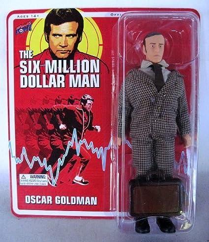 Oscar Goldman Six Million Dollar Man Action Figure w/Briefcase! by Bif Bang Pow! TOY (English Manual)