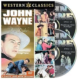 """John Wayne: Riding the Trail, Vol. 1/Riding the Range, Vol. 2 (Full Screen) [2 Discs]"" (Sous-titres français)"
