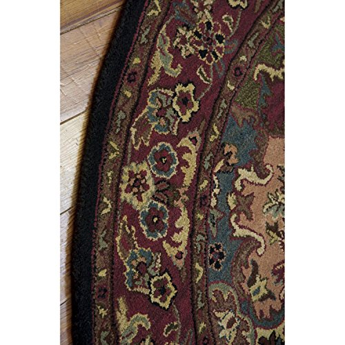 Nourison 1146 India House Free Form Rug, 8-Feet by 8-Feet, Multicolor