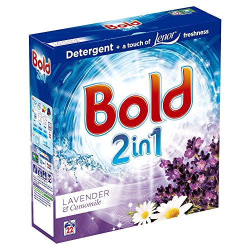 Bold 2-in-1 Lavender & Camomile Washing Powder, 22 Washes