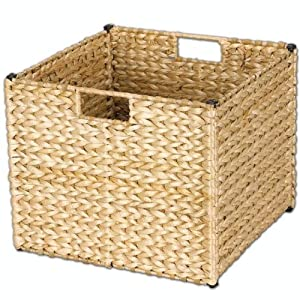 Household Essentials Natural Banana Leaf Storage Bin