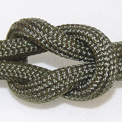 Paracord - Guaranteed Mil-Spec C-5040H Type Iii Military Survival Parachute Cord. Olive Drab (Od) Green 107 - 310 Continuous, Uncut Feet On A Spool. By Paracord 550 Mil-Spec (Tm).