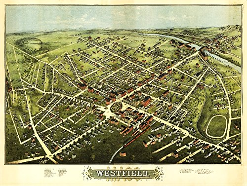westfield-massachusetts-panoramic-map-9x12-collectible-art-print-wall-decor-travel-poster
