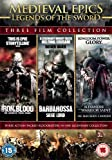 Medieval Epics: Legends of the Sword (3 Disc Boxset, Iron & Blood; Barbarossa: Siege Lord & Alexander: Warrior Saint) [DVD]