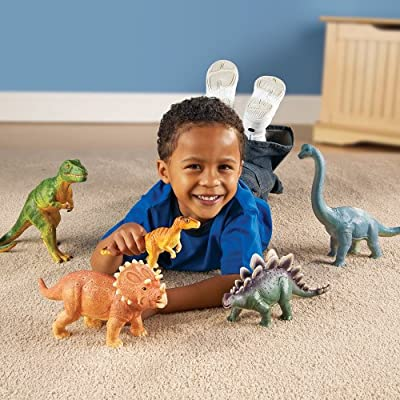 Learning Resources Jumbo Play Animals - Dinosaurs