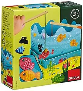 Goula - 53412 - Jouet en Bois - Eveil - Jeu de Pêche