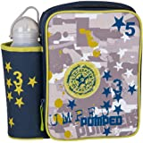 Decor Children's Lunch Box with Water Bottle Paintball, Multi-Colour