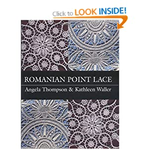 Romanian Point Lace Books http://www.amazon.co.uk/Romanian-Point-Lace-Angela-Thompson/dp/0713488328