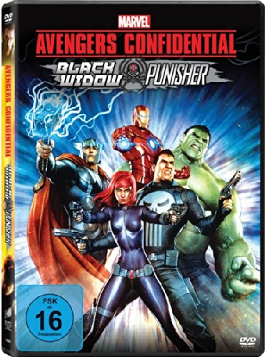 Avengers Confidential: Black Widow & Punisher, DVD