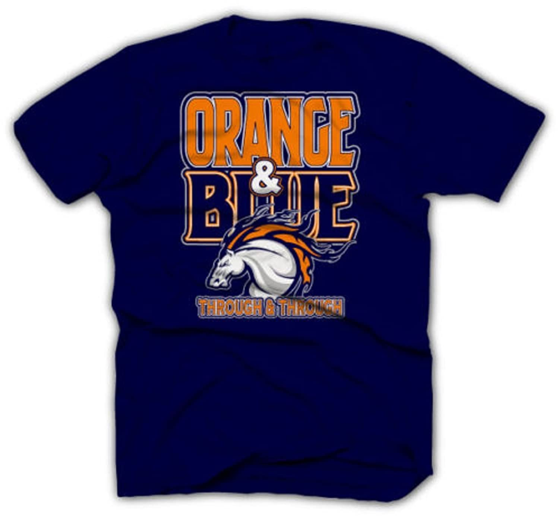 Orange Broncos t Shirt Denver Broncos Shirts Orange