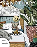 img - for Sanctuary: Living Spaces Coloring Book book / textbook / text book