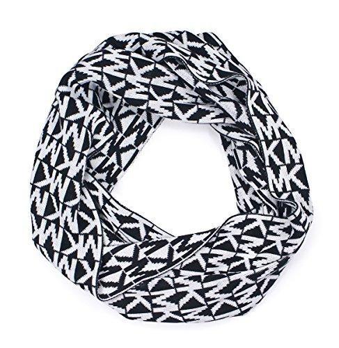 michael-kors-womens-repeat-logo-infinity-scarf-black-white