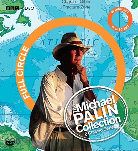 Cover art for  The Michael Palin Collection (New Europe / Around the World in 80 Days / Sahara / Hemingway Adventure / Great Railway Journeys / Himalaya / Pole to Pole / Full Circle)