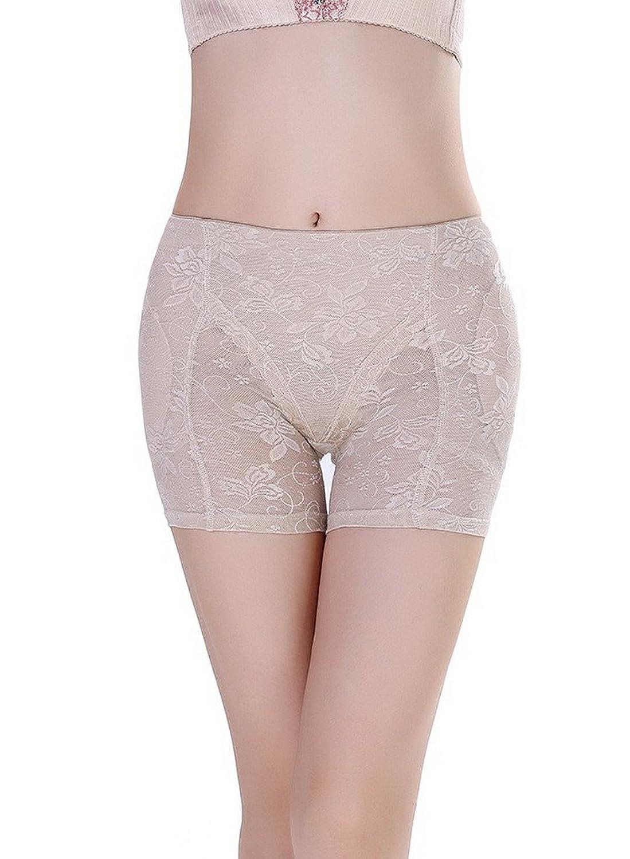 Bigood 1*Figur-Body Frauen Damen Miederpants Body sculpting Unterwäsche viereckig Shorts sexy Schwarz