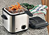 Deni Stainless Steel Mini Deep Fryer