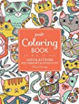 Posh Adult Coloring Book: Cats & Kitt...