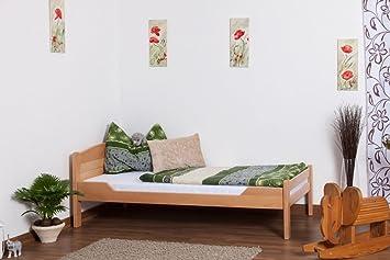 "Lit simple/ lit d'ami ""Easy Sleep"" K1/ total, 90 x 200 hêtre naturel massif"