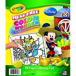 [Best price] Arts & Crafts - Crayola Color Wonder Disney Preschool Coloring Pad - toys-games