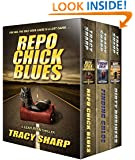 The Leah Ryan Thrillers Box Set: Three Chiller Thrillers (Repo Chick Blues #1, Finding Chloe #2, Dirty Business #3) (Leah Ryan Thrillers Box Set, Books 1-3)