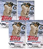 4 (Four) PACK LOT: 2013 Topps (Series 1) Baseball Cards Factory Sealed Hobby Packs (10 Cards/Pack)