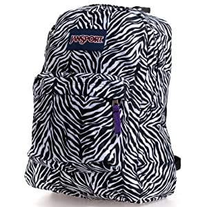 Superbreak Backpack (White/Black Cosmo Zebra/Prmpur)