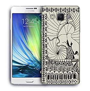Snoogg Abstract play card vintage Designer Protective Back Case Cover For Samsung Galaxy A7
