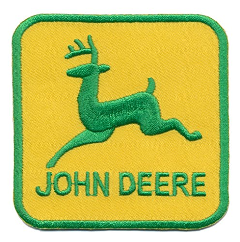 John Deere Aufbügler Traktoren Mähdrescher Landmaschinen USA iron sew on patches by speedmaster-patchshop