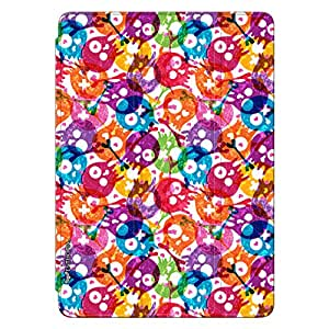 Enthopia Designer Front Smart Cover Skully Holi Back Cover for Ipad Air 2 with Transparent Back Case