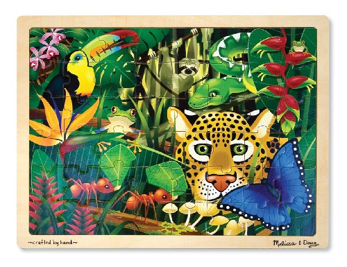 Melissa & Doug Rainforest Jigsaw Puzzle 48pc