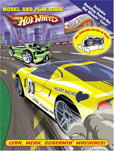 Lean, Mean, Screamin Machines! Hot Wheels Model And Play Book [Publishing, Modern] (Tapa Blanda)