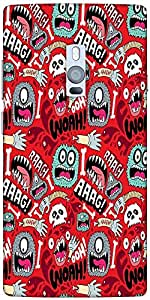 Snoogg woah aaah Hard Back Case Cover Shield For Oneplus Two
