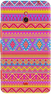 DailyObjects Aztec Pattern Pink Case For Nokia Lumia 1320
