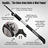 The-Best-Mini-Bike-Pump-With-LIFETIME-WARRANTY-Built-In-Flexible-Hose-Unique-Accessories-Hidden-Compartment-Fits-Presta-Schrader-Valves-High-Pressure-Bike-Tire-Pump-With-Non-Slip-Handle-Light-Portable