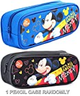 Disney Mickey Mouse  It's All About Mickey  Blue or Black Pencil Case (Randomly)