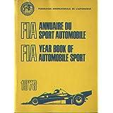 FIA Year Book of Automobile Sport 1978 (FIA Annuaire du Sport Automobile ~ Patrick Stephens