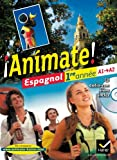 img - for !!Animate! - Espagnol: Manuel De L'Eleve + Audio CD 1ere Annee Lv2 (Spanish Edition) book / textbook / text book