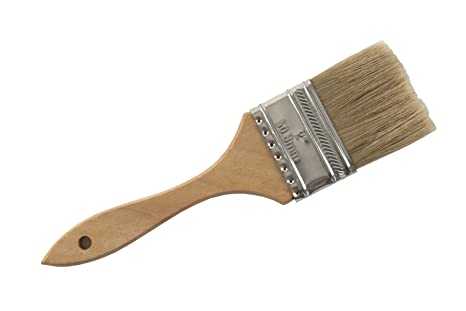 Hog bristle food brush